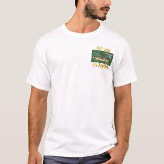Camiseta Linha pescadores da queda da mosca