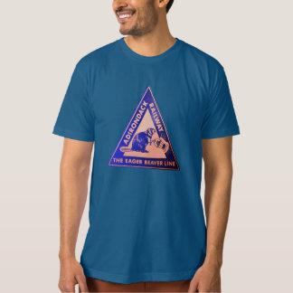 Camiseta Linha T do castor ansioso