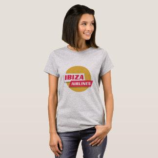 Camiseta Linhas aéreas de Ibiza - o logotipo oficial