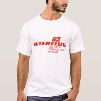 Camiseta Linhas aéreas de Interflug