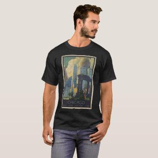 Camiseta LINHAS CENTRAIS de Chicago NEW YORK da imagem do