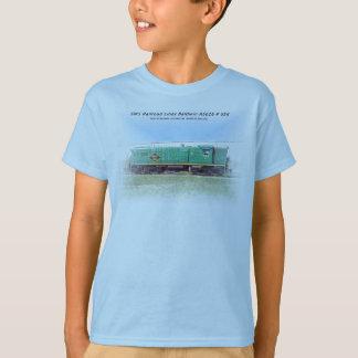 Camiseta Linhas de estrada de ferro Baldwin de SMS AS616 #