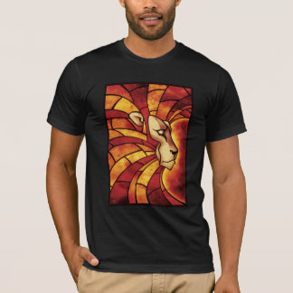 Camiseta Lion of Judah - Colour Lion Rasta reggae Shirt -