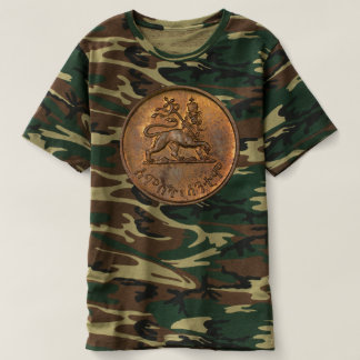 Camiseta Lion of Judah - Rasta Jah Army reggae Shirt -