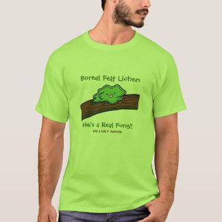 Camiseta Líquene boreal de feltro: um t-shirt real dos