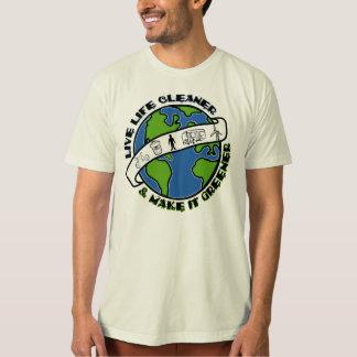 Camiseta Líquido de limpeza vivo da vida