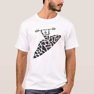 Camiseta líquido do caiaque