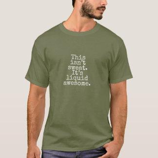 Camiseta Líquido impressionante