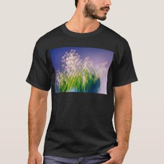 Camiseta Lírio da dança do vale no azul
