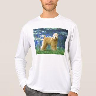 Camiseta Lírios 5 - Terrier Wheaten (suporte)