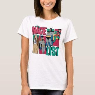 Camiseta Lista agradável do papai noel de Batman | de