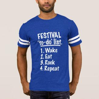 Camiseta Lista do tumulto do ` de Fetisval' (branca)