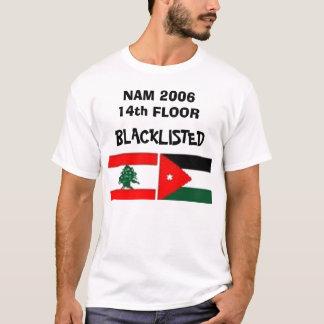 Camiseta Lista negra do assoalho de NAM 2006 14a