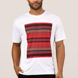 Camiseta Listras - horizonte vermelho