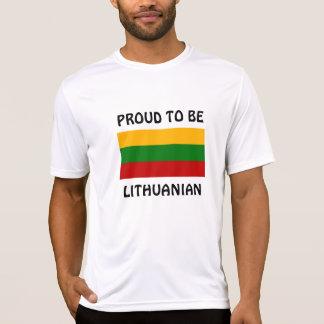 Camiseta Lithuania: Orgulhoso ser lituano