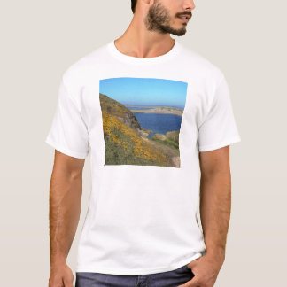 Camiseta Litoral Califórnia de Reyes do ponto da cena