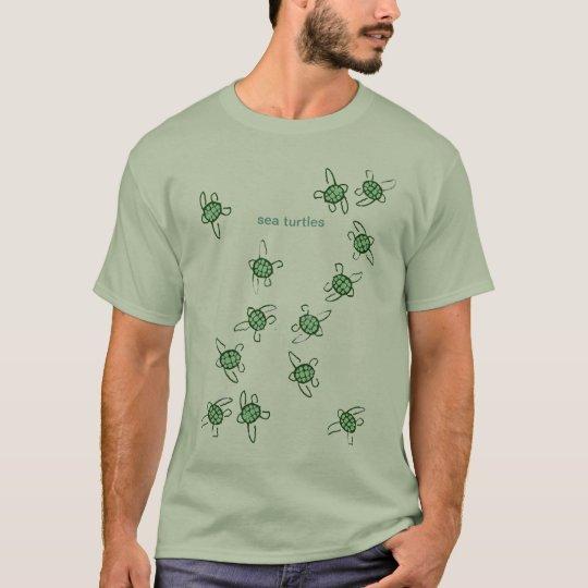 Camiseta little turtles