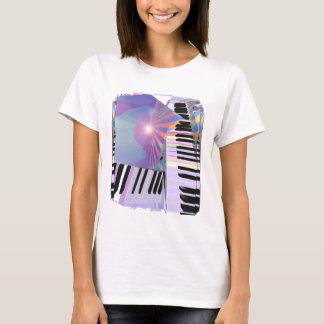 Camiseta Livrando a música do teclado