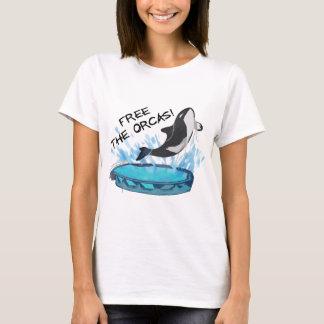 CAMISETA LIVRE AS ORCAS!