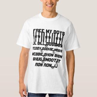 Camiseta Livre meu t-shirt dos meninos