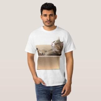 Camiseta Livre o gato