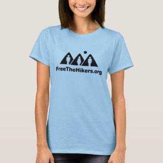 Camiseta Livre o tanque das senhoras dos caminhantes
