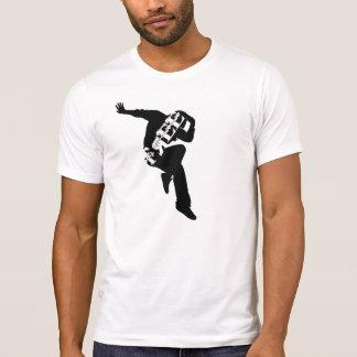 Camiseta Livre para dançar o grupo básico do roupa
