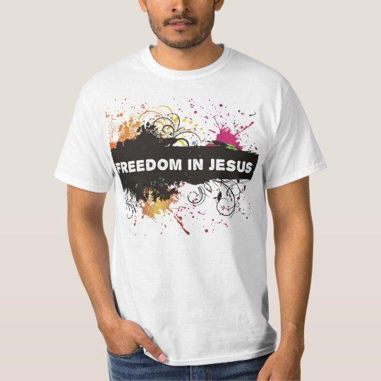 Camiseta Livres em Jesus