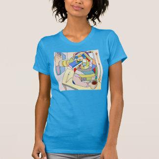 """Camiseta """"Livro das regras"""" por Ruchell Alexander"""