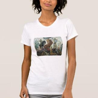 Camiseta Livro de cavaleiro de revelação quatro do