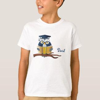 Camiseta Livro de leitura esperto | da coruja