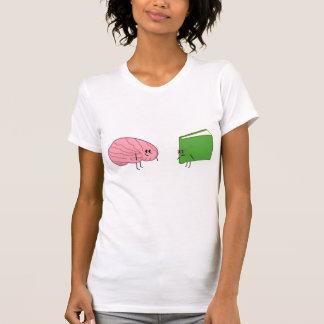 Camiseta Livro do cérebro <3