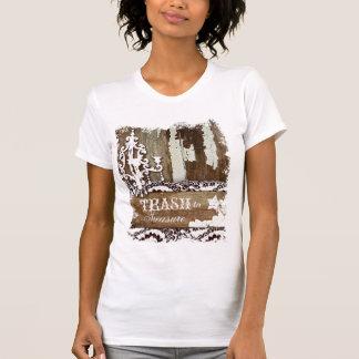 Camiseta Lixo do GC para estimar o T do candelabro