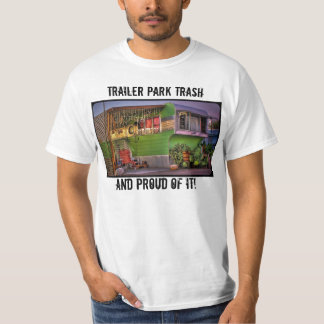 Camiseta Lixo do parque de caravanas