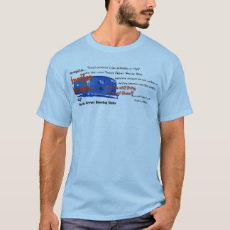 Camiseta Lixo do reboque série-você pôde ser lixo do