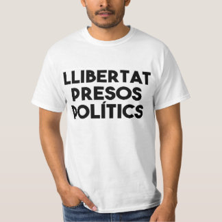 Camiseta Llibertat Presos Polítics - independência Catalan