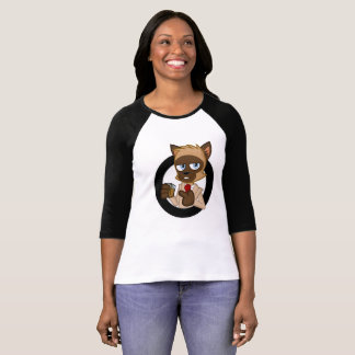 Camiseta Lloyd, o Longsleeve das mulheres de solo