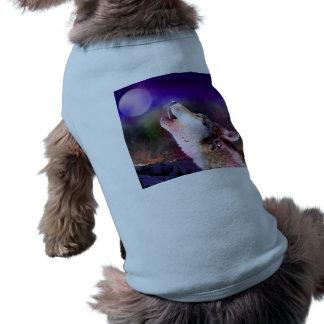 Camiseta Lobo de Howlin - lobo da lua - lobo principal