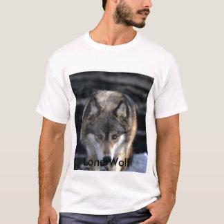 Camiseta Lobo de Runing, lobo solitário