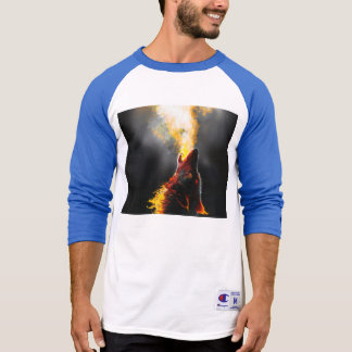 Camiseta Lobo do fogo
