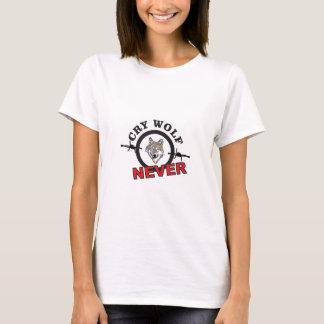 Camiseta lobo farpado do grito nenhum