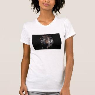 Camiseta Lobo indiano - lobo cinzento