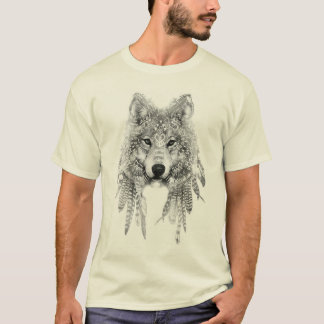 Camiseta Lobo no t-shirt nativo do roupa