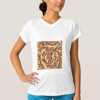 Camiseta Lobo surpreendente animal de ArtsStudio-