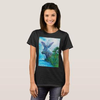 Camiseta Lobo voado