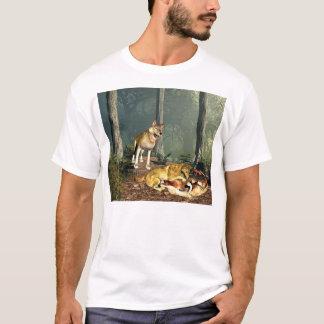 Camiseta Lobos no jogo