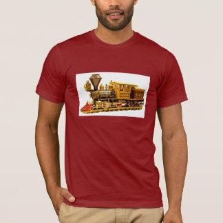 Camiseta Locomotiva de vapor modelo
