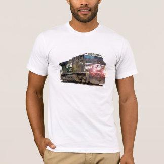 Camiseta Locomotiva diesel