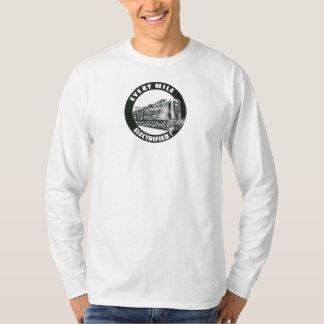 Camiseta Locomotiva GG-1 #4800 da estrada de ferro de