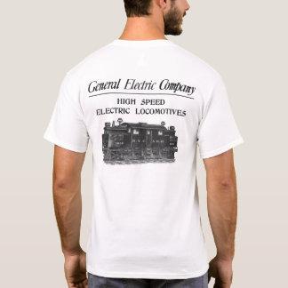 Camiseta Locomotivas elétricas de alta velocidade de GE